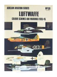 luftwaffe colour schemes and markings 1935 45 written by windrow