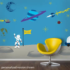 wall theme space wall decals outer space wall decals my wonderful walls