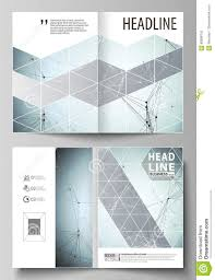 business templates for bi fold brochure flyer report cover