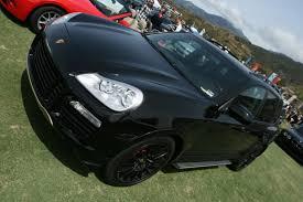 cayenne porsche black all black porsche cayenne turbo 4 madwhips