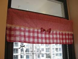 Kitchen Curtains Red by Kitchen Curtains Red Red Plaid Kitchen Curtains Remarkable