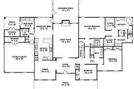 Bedroom House Plans One Story  Bedroom Floor Plans  Story - 5 bedroom house floor plans