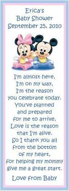 baby shower poems baby shower thank you from unborn baby poems gender select an