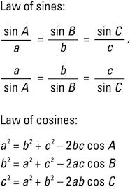 trigonometry for dummies cheat sheet dummies