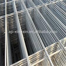 rete metallica per gabbie zincato a caldo nero saldato pannello di rete metallica gabbia per