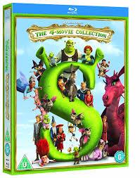 amazon com shrek 1 4 dvd import movies u0026 tv