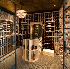 in floor wine cellar decoration wide wine cellar sports a gorgeous floor vase filled