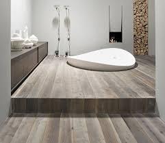 bathroom floor idea using wood floor in bathroom to create some look