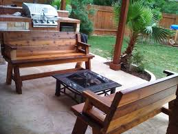 Patio Furniture Sets With Fire Pit by Teak Patio Furniture Costco Outdoor Banquette Bench With Costco