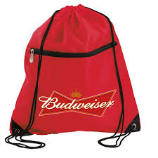 Metal Budweiser Cooler by Budweiser Bowtie Red Sling Bagthe Beer Gear Store