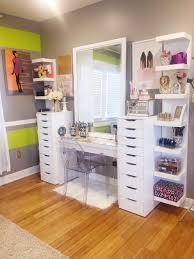 Makeup Organizer Desk Furniture Acrylic Desk Ikea Ikea Cosmetic Storage Makeup