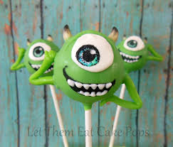 monster u0027s inc mike wazowski cake pops pint sized baker