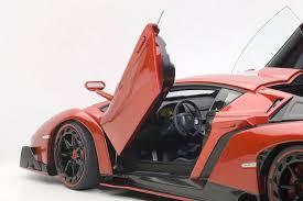 gold lamborghini veneno buy autoart 74508 lamborghini veneno 1 18 diecast model car red