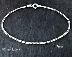 silver bracelet jewelry images Silver bracelet etsy jpg