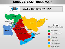 middle east map test middle east asia editable continent map with countries