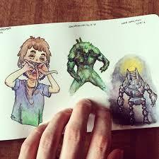 moleskine watercolor sketchbook john vanhouten