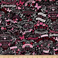 pink ribbon fabric timeless treasures pink ribbon chalkboard black discount designer