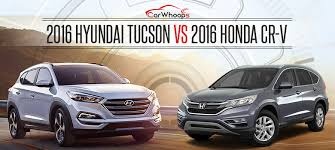 hyundai tucson or honda crv 2016 hyundai tucson vs honda cr v 2016 comparison car whoops