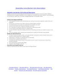 cover letter sample electronic assembler resume sample of