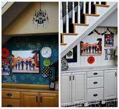 halloween plate wall with no holes