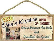 Grandparent Plaques Rectangle Grandmother Home Décor Plaques U0026 Signs Ebay