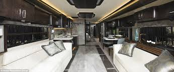 Coach Interior For Cars Inside The 700k Luxury American Eagle Rv That U0027s As Big As A Coach