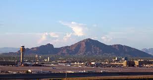Phoenix Airport Terminal Map Aviation