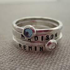 rings with children s names child name rings s rings children s name rings hip