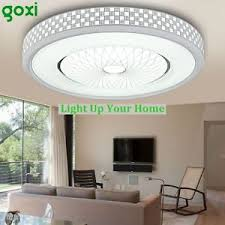 Wall Mount Chandelier Goxi Modern Led Round Ceiling Lamp Acrylic Flush Mount Chandelier