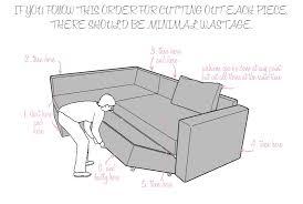 Sofa Bed Dimensions Manstad Sofa Dimensions Revistapacheco Com