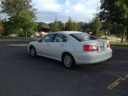 mitsubishi galant 09 white excellent condition clean interior