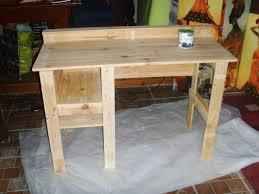 construire un bureau en bois chambre bureau en palette bureau en palette faire un bureau