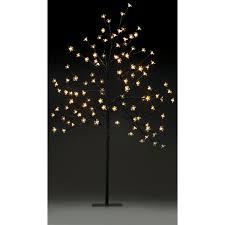 blossom twig tree with lights 1 2m 120 led bulbs kmart