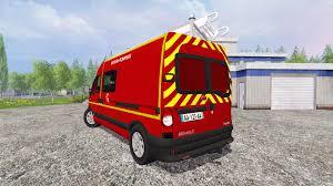 renault master bus master sapeurs pompiers v2 0 for farming simulator 2015