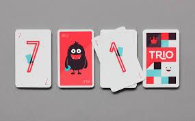 Card Game Design Trio Card Game On Behance