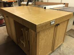 Draft Table Table Saw Router Outfeed Assembly Draft Table By Dhs
