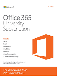 microsoft office 365 university 4 year subscription student