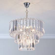 viewing photos of 3 tier crystal chandelier showing 7 of 12 photos