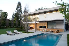 modern pool house design with nice lighting ohwyatt com