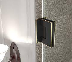 23 Shower Door Aston Cascadia 23 X 72 Hinged Completely Frameless Single Panel