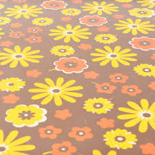 1960s Design Vintage 1960s Folding Table Camping Glamping Flower Power