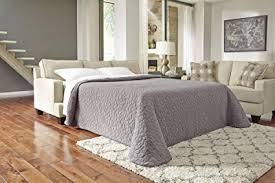 Linen Sleeper Sofa Furniture Signature Design Brielyn Sleeper