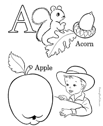 Abc Printable Coloring Pages Many Interesting Cliparts A Coloring Sheet