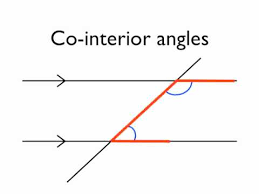 Adjacent Interior Angles Angles In Parallel Lines Co Interior Angles Youtube