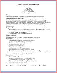Sample Accounting Resume by Cover Letter Example Accounting Resume Sample Accounting Resume