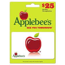 applebee s gift cards applebee s 25 gift card sam s club