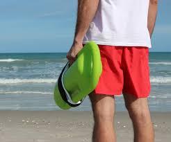 lifeguards choose red lifeguard shorts