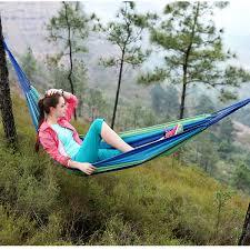 portable outdoor hammock load 120kg home garden sports swing