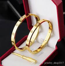 steel love bracelet images Tennis online sale titanium steel love bracelets silver rose gold jpg