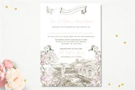 wedding invitations kildare the cliff at lyons invitation wedding stationery from appleberry